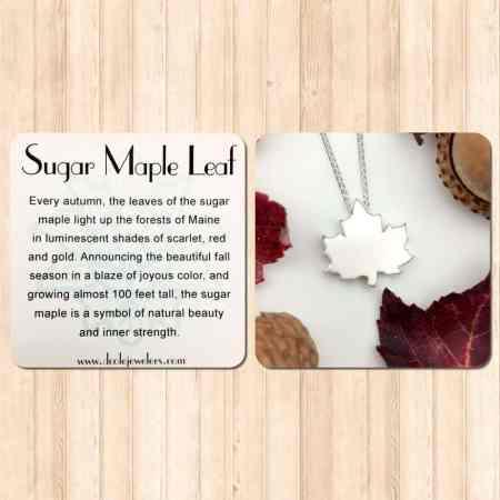 Sugar Maple Leaf Necklace 3