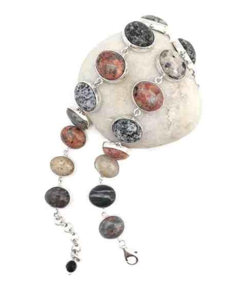 Maine Beach Stone Bracelet 2