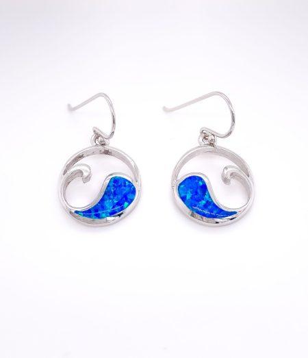 Opal Wave Earrings 1