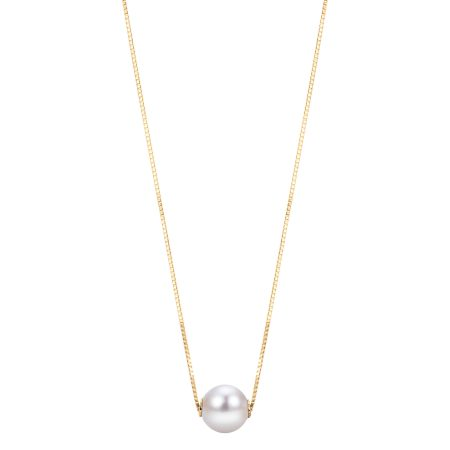Single Pearl Necklace 1