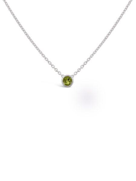 Bezel Stone Necklace 4