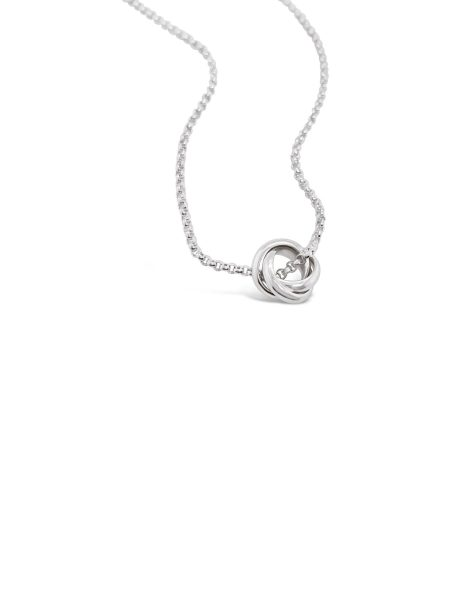 Floating Triple Circle Necklace 1