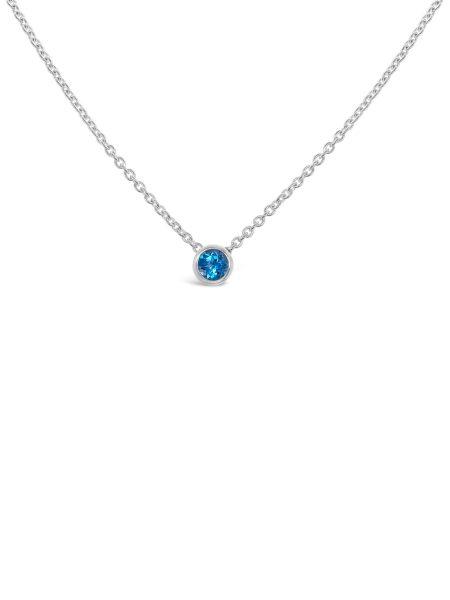 Bezel Stone Necklace 3