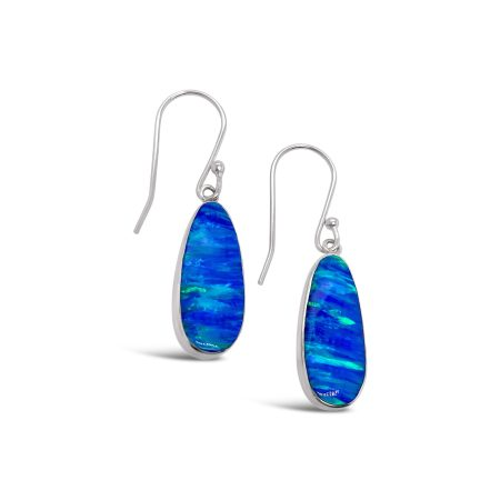 Teardrop Opal Earrings 1
