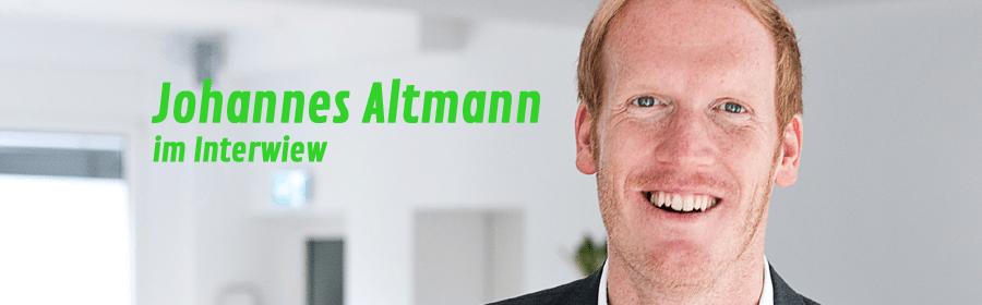 Johannes Altmann: raus aus der Belanglosigkeit