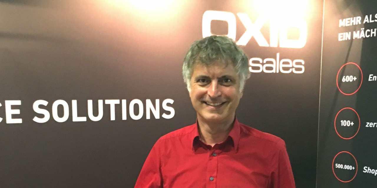 Oxid CEO, Roland Fesenmayr: Mir persönlich macht es gerade richtig Spaß