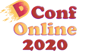 DConf Online 2020 Logo