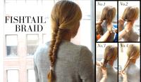 Fishtail Braid Easy Steps   www.pixshark.com - Images ...