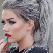 light grey hair hairstyles