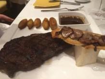 450gr de côte de bœuf « Angus » de l'Alberta grillée