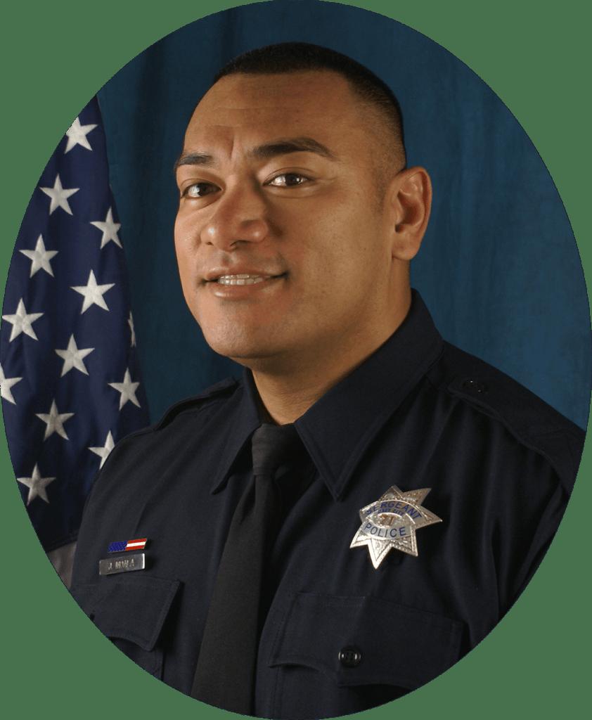 Sgt. Joshua Moala, Vice President of the DCPAL