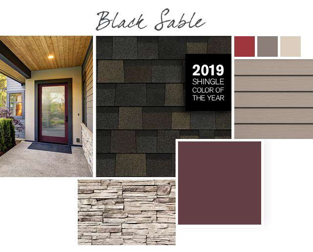 2019 Owens Corning Color Of The Year Black Sable