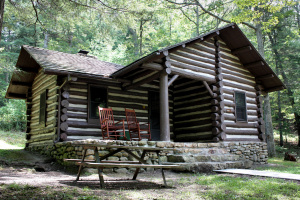 state douthat cabin park virginia cabins parks va camping bedroom landing map rentals flickr lodges plans rustic log buffet stay