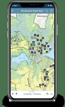 First Landing State Park Map Pdf : first, landing, state, Trails, Hiking,, Biking,, Walking, Horses