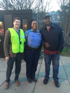 Richard Lukas, Officer Spriggs, and Michael Smith