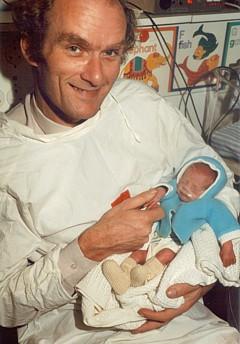 Andrew's birth