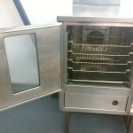 DCS cleaned commercial oven
