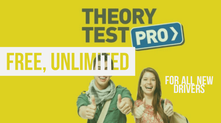 Free, unlimited theory test pro