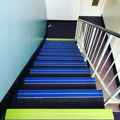 Quantum Stair nosings at Servicemaster HQ