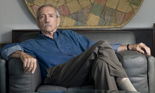 Edward Albee at home in 2009 (Photo: Gordon M.