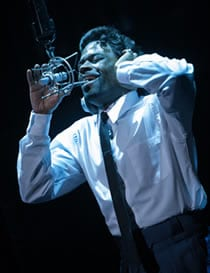 "Cedric Neal as Jimmy ""James Thunder"" Early (Photo: Christopher Mueller)"