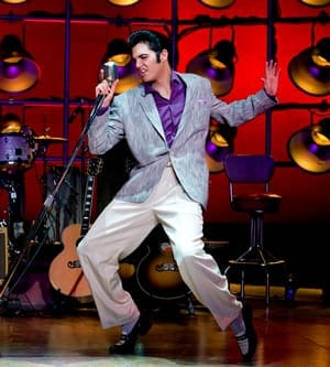 Cody Slaughter as Elvis Pressley (Photo: Jeremy Daniel)