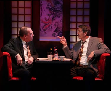 Conrad Feininger as George and Jeff Allin as Dave (Photo: Danisha Crosby)
