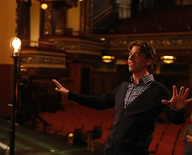 Tom (Christian Borle) fantasizes his new number