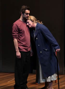 MaryBeth Wise as Mary  and Ray Ficca as son Bill  (Photo: Danisha Crosby)