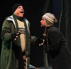 Bolton Marsh as Roy and Michael Glenn as Gordon (Photo: Anna Danisha Crosby)