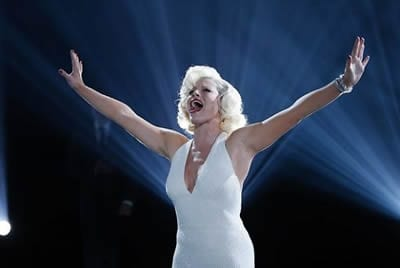 Ivy (Megan Hilty) fulfills her destiny. Yeah, I cried.