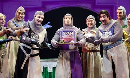 Monty python 39 s spamalot dc theatre scene for 12 knights of the round table characters