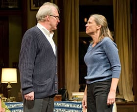 Tracy Letts and Amy Morton in Who's Afraid of Virginia Woolf?