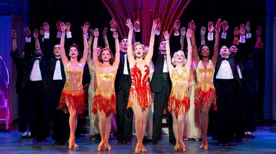 """Blow, Gabriel, Blow"" from Anything Goes (Photo Credit: © Joan Marcus, 2012)"