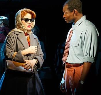 Kelli O'Hara and Isaiah Johnson (Photo courtesy of Playwrights Horizon)