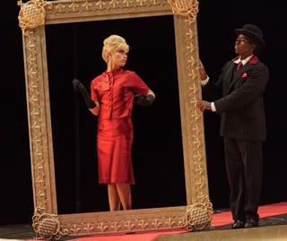 Ginger Costa-Jackson as Marchesa and ensemble member Julian Otis  (Photo: Karli Cadel /The Glimmerglass Festival)