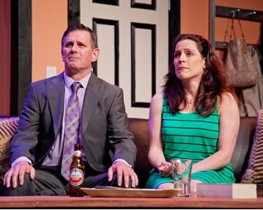 Mark A. Rhea as Howie and Susan Marie Rhea as Becca (Photo: C. Stanley Photography)