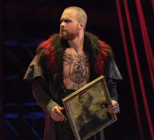 Ryan McKinny as the Dutchman  (Photo: Karli Cadel/The Glimmerglass Festival)