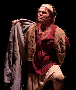 Daniel Felton as Jean Valjean (Photo: Kirstine Christiansen)