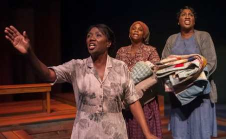 Margo Moorer as Nella, Duyen Washington as Alice, and Roz White as Sadie (Photo: Chris Banks)