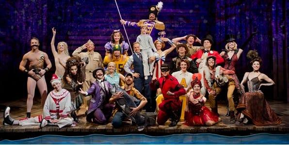The cast of Big Fish (Photo: Paul Kolnik)