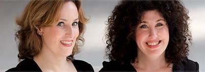 Zina Goldrich and Marcy Heisler