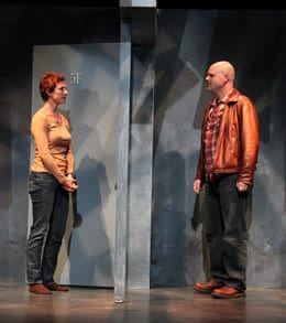 Lise Bruneau (Jane) and Todd Scofield (Tom) .(Photo by Danisha Crosby)