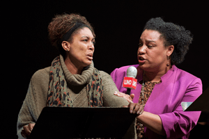 (l-r) for Breaking: Jacqueline Echols and Deborah Nansteel (Photo courtesy of Washington National Opera)