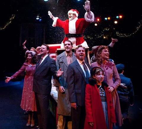 The cast of Miracle on 34th Street (Photo by Kirstine Christiansen)