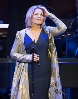 Renee Fleming in concert at American Voices (Photo: Scott Suchman)