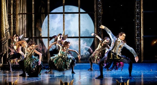 The cast of Matthew Bourne's Sleeping Beauty, (Photo: Simon Annand)