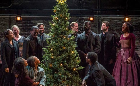 The cast of A Civil War Christmas (Photo: Richard Anderson)