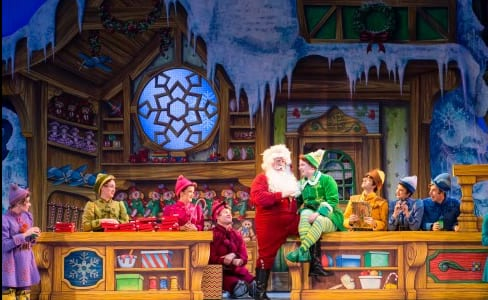The cast of Elf The Musical (Photo: Amy Boyle Photography)