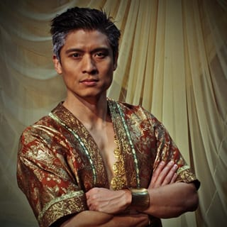 Paolo Montalban as The King (Photo courtesy of Olney Theatre Center)